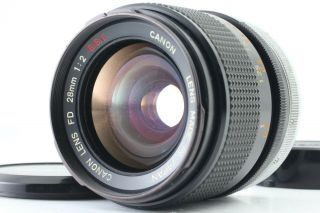 Rare【near Mint】 Canon Fd 28mm F/2 S.  S.  C Ssc Wide Angle Lens For Slr From Japan