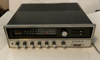 Rare Vintage Fisher 601 Stereo Or Quadraphonic Receiver,  2 Zones,  &