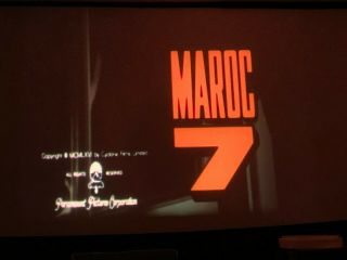 16mm Rare  James Bond  Type Maroc 7 (1967) - - Scope I.  B.  Technicolor - Gorgeous