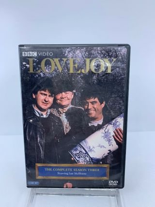 Lovejoy The Complete Season 3 Ian Mcshane Bbc Antique Crime Mystery Dvd