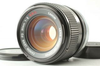 "【mint "" Rare O Lens "" 】 Canon Fd Ssc 35mm F/2 S.  S.  C.  Wide Angle Lens From Japan"