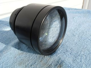 "Bausch & Lomb 4 "" F1.  1 E.  F Projector Lens Extremely Rare"