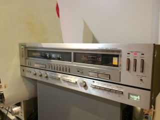 Technics Sa - 828 Vintage Top Line Stereo Receiver W/ Meters Rare & Brutal Sound