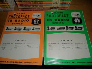Vintage Sams Photofact Cb Radio Series - Two Issues From June 1975