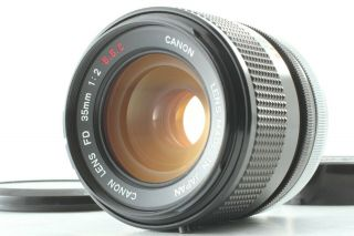 """ Rare O Lens "" 【 】 Canon Fd 35mm F2 S.  S.  C.  Wide Angle Lens Ssc From Japan"