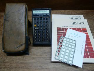 Hp - 41cx Rare Programmable Vintage Calculator Perfectly