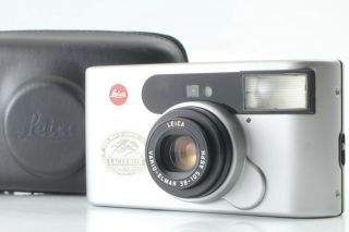 Rare [ Limited N Mint] Leica C1 35mm Point & Shoot Film Camera W Case From Japan
