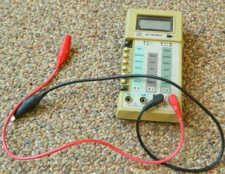 Vintage Hung Chang Hc 6010 Multimeter With Cords