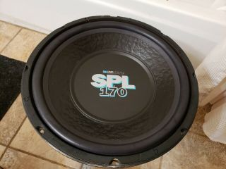 "Soundstream Spl 170 Rare Old School Made In Usa 15 "" Subwoofer"