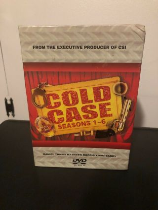 Cold Case Seasons 1 2 3 4 5 6 Series Very Rare 36 Disc Set 1 - 6