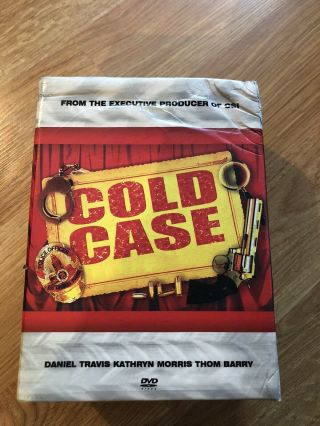 Cold Case Seasons 1 2 3 4 5 6 7 Series Very Rare 36 Disc Set 1 - 7