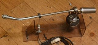 70s Year Grace G - 860f 16inches Long Tonearm With Cable,  Arm Rest Rare
