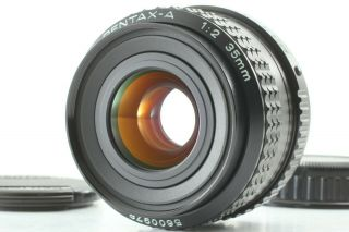 Rare [ Near ] Smc Pentax - A 35mm F/2 Mf Lens K Mount From Japan
