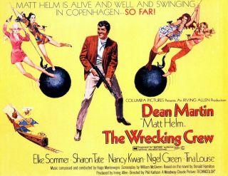 Rare 16mm Feature: The Wrecking Crew (lpp) Dean Martin / Secret Agent Matt Helm