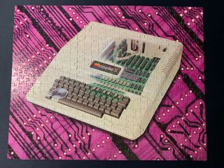 Rare Vintage Apple Ii Plus Jigsaw Puzzle Apple 2 Computer