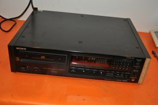 "Rare Sony Cdp - 707esd Audiophile Cd Player Es Esd "" Great """