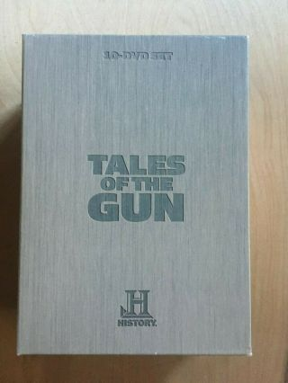 History Channel Presents Tales Of The Gun A&e Home Video (10 - Disc Set) Rare