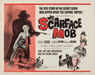 Rare 16mm Feature: The Scarface Mob (robert Stack) The Untouchables Feature
