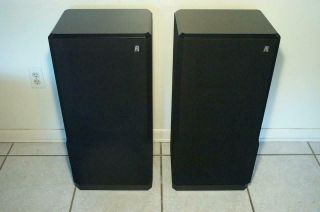Rare Acoustic Research Ar93q Stereo Speakers Foam Audiophile Classic Ar94
