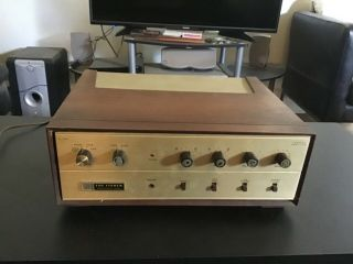 Fisher Tube Amp Amplifier X - 100 Vintage Audiophile Rare