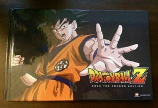 Dragon Ball Z - Rock The Dragon Edition Dvd,  48 Page Art Book Rare 9 - Disc Oop