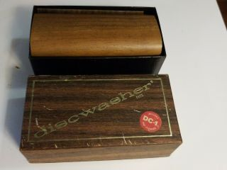 Vintage Discwasher Record Cleaner Box Disk Washer Antique