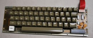 Rare Apple Ii Keyboard 01 - 0425 With No Encoder Board - Ships Worldwide