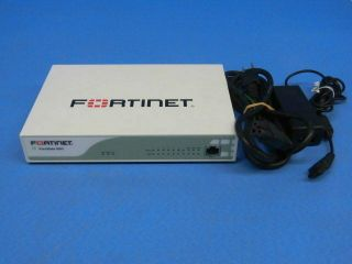 2 Adapters Fortinet Fortigate Fg - 60d Firewall W/ac Adapter Inc License Rare