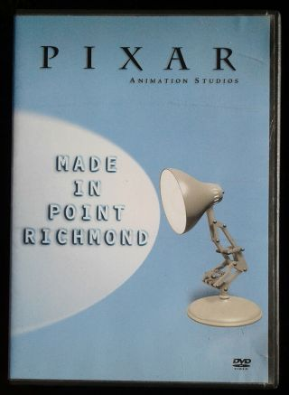 Pixar: Made In Point Richmond (2001) - Ultra - Rare Employees Only Compilation Dvd