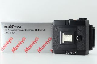 【rare In Box】mamiya Rb67 Power Drive Film Holder 6×7 From Japan 71a