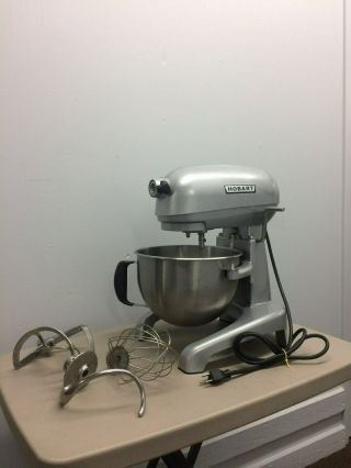 Rare Hobart Hl6 Commercial Orbital Stand Mixer W/ Bowl & Attachments 6 - Quart