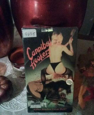 Cannibal Hookers Vhs.  Gore/occult.  Rare