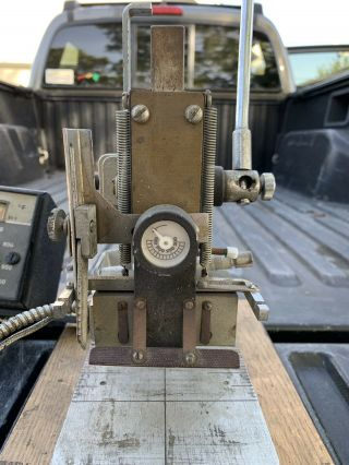 Kingsley Hot Foil Stamping Machine Model M - 50? Rare External Heat Dial