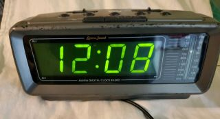 Lenoxx Sound Cr - 776 Am/fm Alarm Clock Radio Large Green Led Display