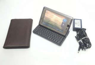 Rare Umpc Htc Shift X9500 7in Two Os 0.  8gh 20gb Hdd 1gb Ram 3g Wifi Bt