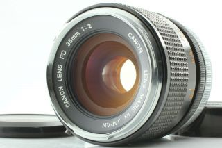 Rare Fd O Lens [near Mint] Canon Fd 35mm F2 Wide Angle Lens From Japan