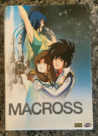 Macross Dimension Fortress Dvd 2006 Advfilms Complete 8 Discs Rare