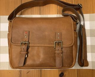 Rare Ona The Berlin Leica Bag,  Vintage Bourbon