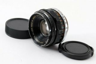 Rare Canon 35mm F2 For Leica Screw Mount Ltm 39 From Japan [exc] 8058a