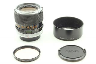 Rare [near,  ] Canon Fd 35mm F2 Wide Angle Mf Lens Hood From Japan 374