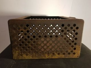 2 Antique Vintage Storage Locker Bins By Worley
