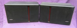 Bose 301 Series Iii Speakers - - Rare Continental Series Heavy Cabinets