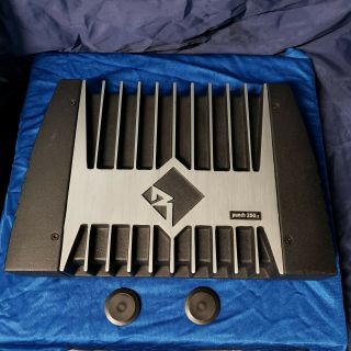 Old School Rockford Fosgate Punch Power Series 250.  2 Amplifier Rare Underrated