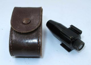 "Rare Early Leica Visor "" Torpedo Finder "" & Case."