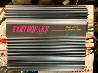 Old School Earthquake Of San Francisco Amplifier Pa - 4030 Rare Amp Great
