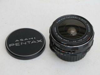 Rare Nikon Mount Fish - Eye - Takumar 17mm F:4 Pentax Asahi Fisheye Lens With Caps