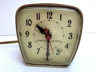 Vintage General Electric 7220e 115 Volts Alarm Clock