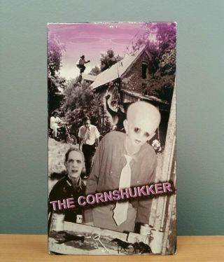The Cornshukker Vhs Rare Horror Obscure Insane Pink Elephant