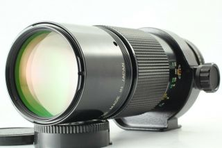 [very Rare Exc,  ] Canon Fd Macro 200mm F/4 Mf Lens Nfd From Japan 12