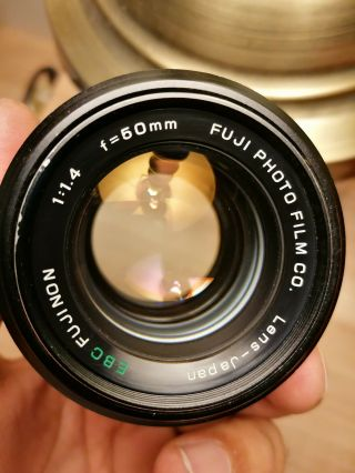 Fujinon 50mm 1.  4 Ebc & Fujinon 55mm 3.  5 Ebc Macro.  Grear And Rare